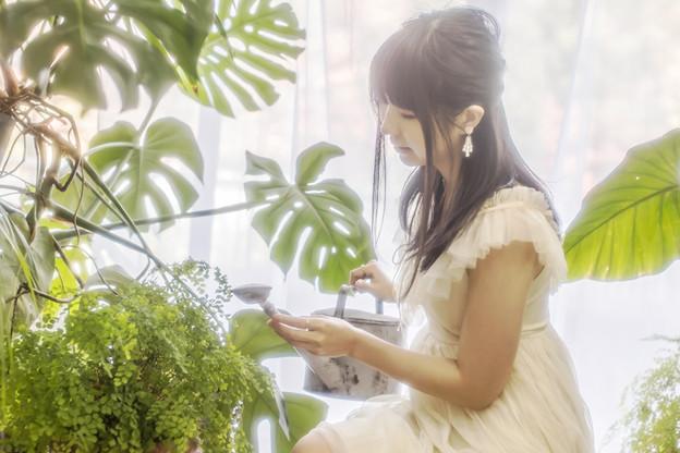 植物を愛する人