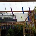 イオンモール岡山5 階の風鈴。シャラシャラ鳴って和む。 #okayama