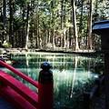 小国神社のお池