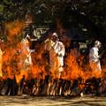 写真: 火渡り式