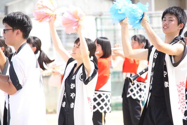 倉敷西小学校運動会演奏_059