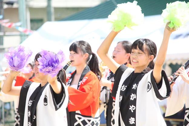 倉敷西小学校運動会演奏_061