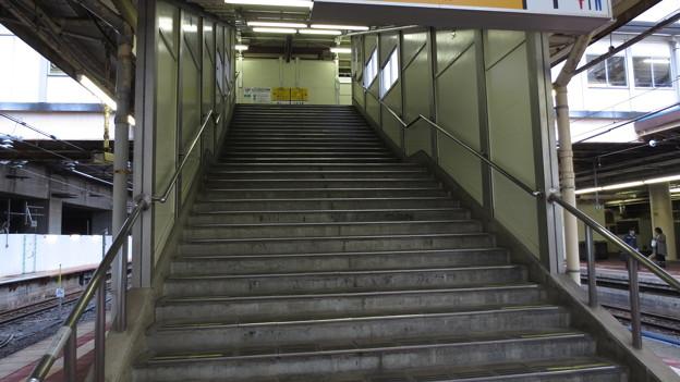 見納めの階段