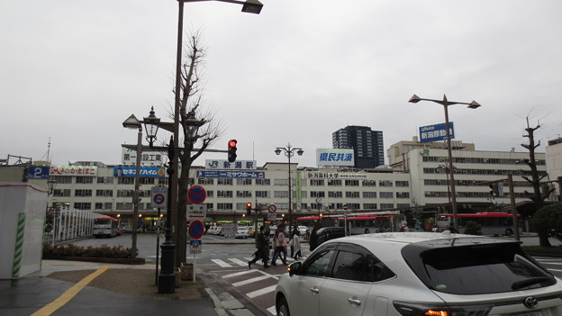 旧新潟駅全景