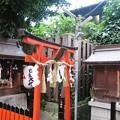 写真: 路地裏神社:レトロ中崎町21