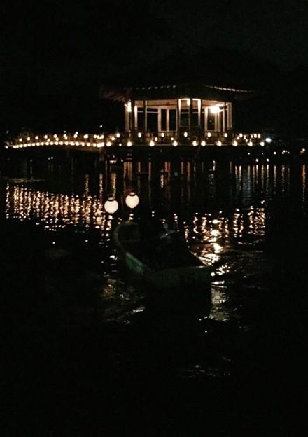 浮見堂:奈良燈火絵10