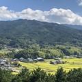 写真: 甘樫丘展望台04 飛鳥寺と田園風景