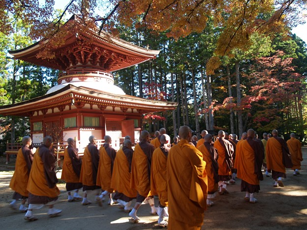 祈りの秋10 高野山