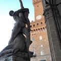 写真: ヴェッキオ宮殿前広場:フィレンツェ16