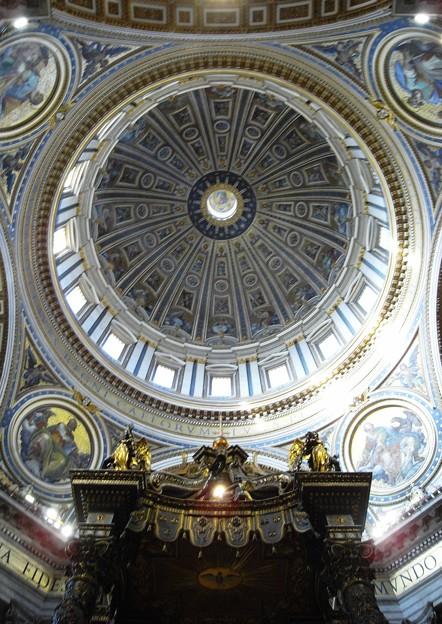 ミケランジェロ設計のクーポラ:ローマ02
