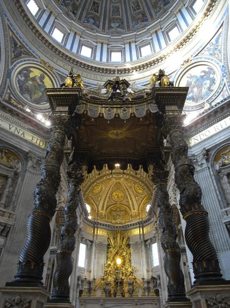 ベルニーニの大天蓋:ローマ01