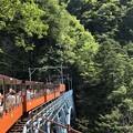 黒部渓谷鉄道02:後曳橋(あとびきばし)
