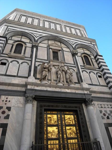 サンジョバンニ洗礼堂(天国の扉):フィレンツェ18