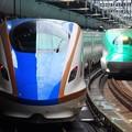 かがやき & はやぶさ 東京駅