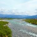 黒部川~北陸新幹線から
