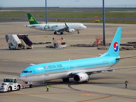中部国際空港~KOREAN AIR