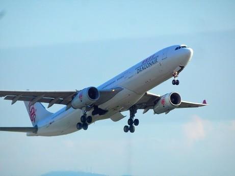 DRAGON AIR 福岡空港