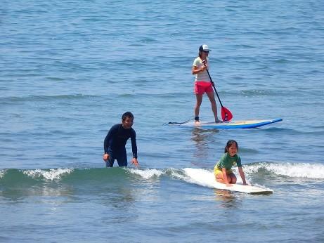 練習~材木座海岸