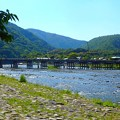 初夏の嵐山