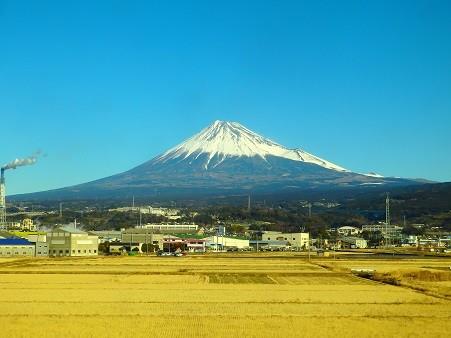 車窓富士山 2018-02-06