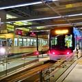 写真: 富山市電~富山駅
