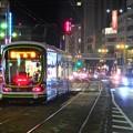 写真: 広島の夜
