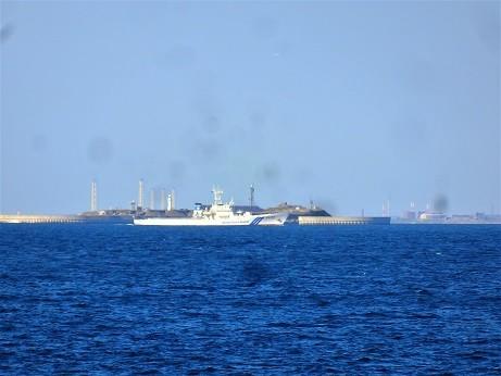 巡視艇~横須賀沖