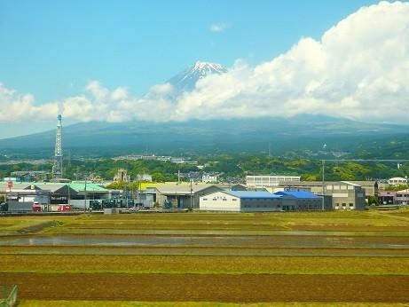 車窓富士山 2018-05-14