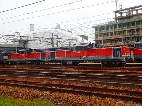 機関車~稲沢駅