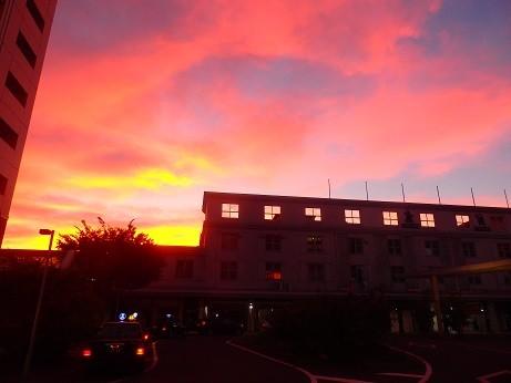 熊本の夕焼け