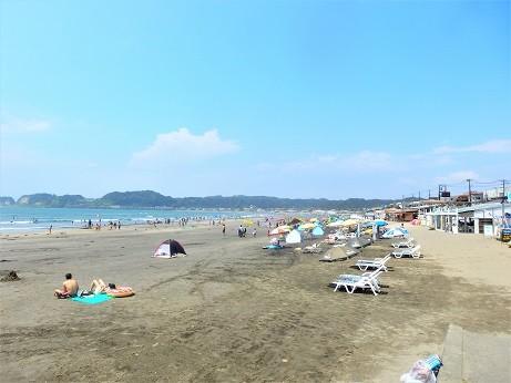 鎌倉の海水浴場