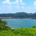写真: 大崎公園からの逗子海岸