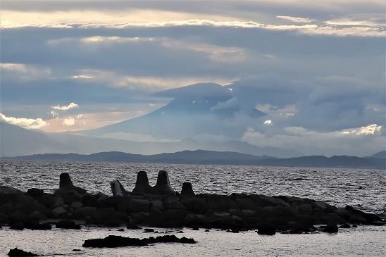 富士山雲隠れ~葉山