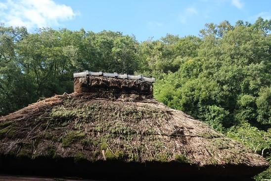 藁ぶき屋根~北鎌倉