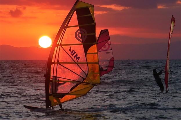 Photos: ウインドサーフィン