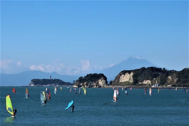 Photos: 材木座海岸からの富士山