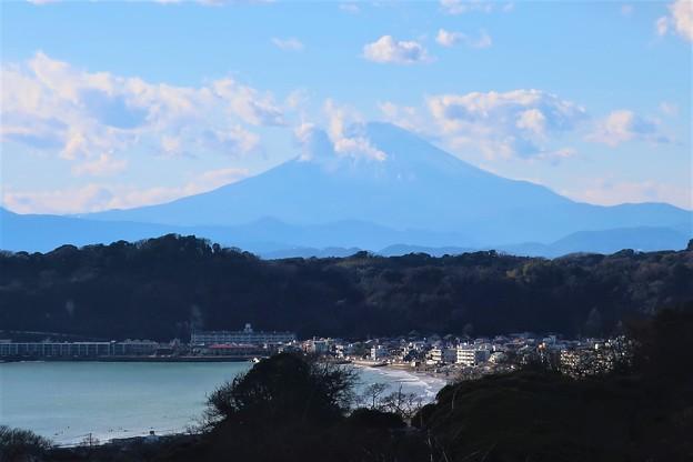 富士山~鎌倉市大町