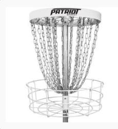 Dynamic Discs Patriot Portable Disc Golf Basket