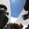カメラの先は・・雪回廊