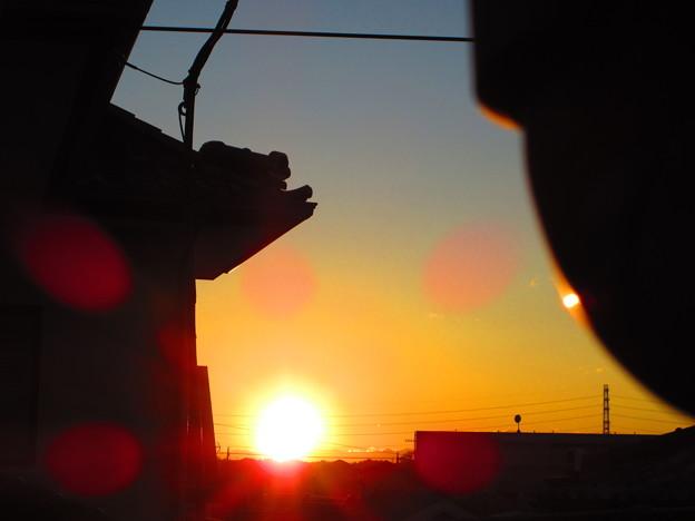 陽が落ちるとき・・