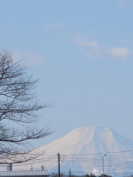 川越からの富士山
