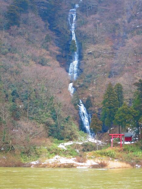 最上川白糸の滝