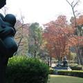 Photos: 母子像を入れて