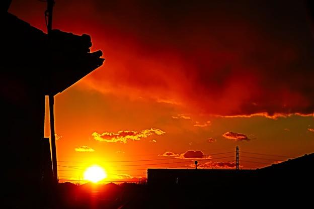 陽が落ちるころ