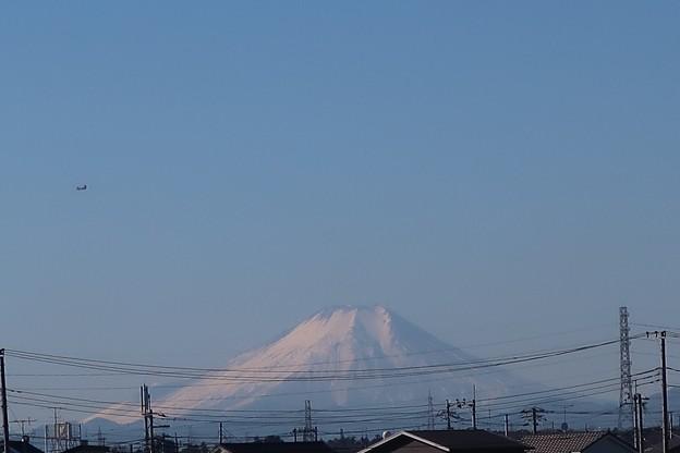 お~見事な富士ですね