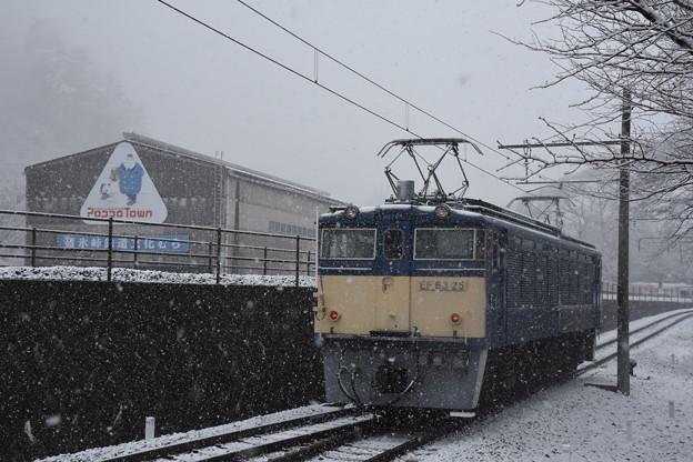 雪のEF63