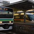 写真: E231系マト車NN入場