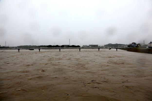河川敷増水-2