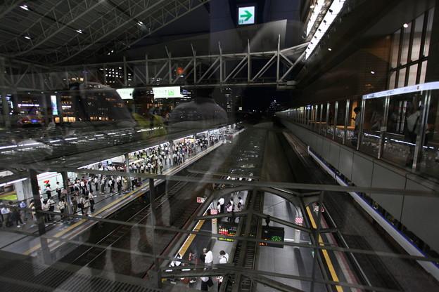 大阪駅9番ホ-ム