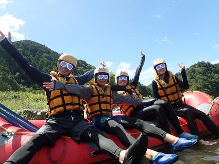 長良川ラフティング1